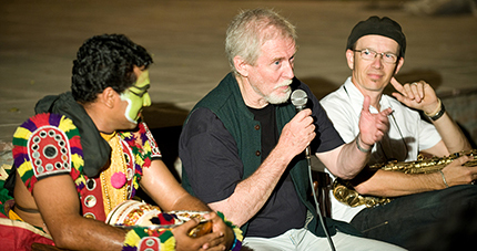 Suresh, Tom Alter and Pascal Seiger